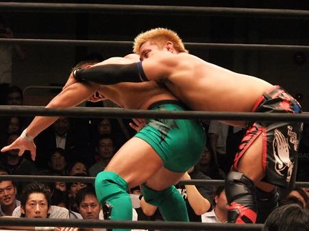 ドラゴンゲート オープン・ザ・ドリームゲート選手権 望月成晃vs戸澤陽 20111012 (19)