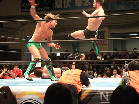 新日本プロレス CMLL 後楽園ホール 20110123 (13)
