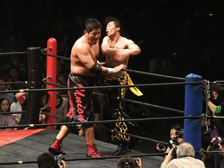 DDT 両国ピーターパン2011 〜二度あることは三度ある〜 KO-D無差別級選手権 石川修司vsKUDO (14)