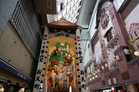 15 2014年 博多祇園山笠 飾り山笠 サザエさん 新天町 (2)