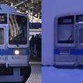 Photos: 小田急2000形 実車・模型顔比較