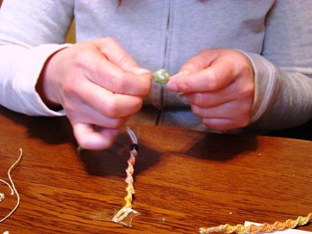 ヘンプ編み&鍋パーティ