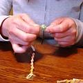 写真: ヘンプ編み&鍋パーティ