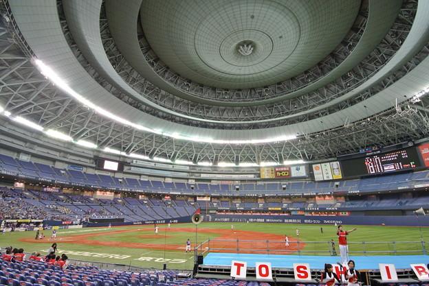 Photos: 日本選手権試合開始前