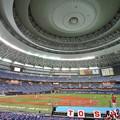 日本選手権試合開始前
