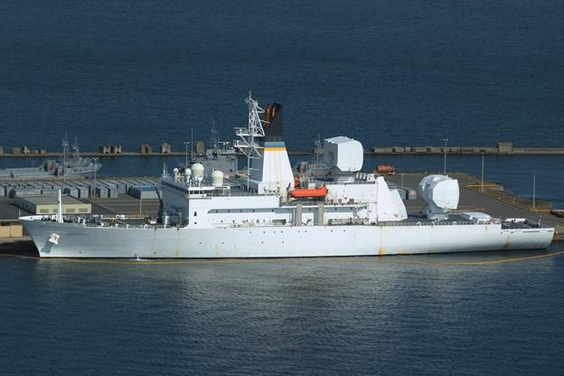 アメリカ海軍新型ミサイル追跡艦-3