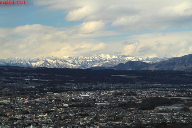 前橋県庁32階からの展望5(三国...