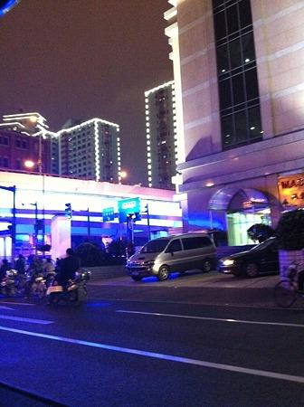 上海夜の風景
