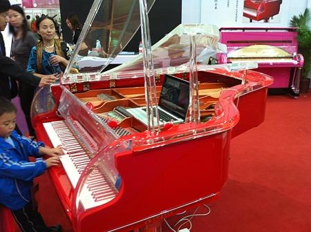 カラフルピアノ
