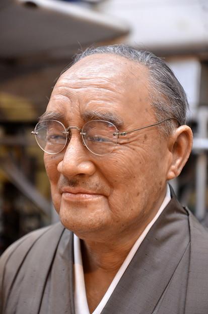 第45代~総理大臣・吉田茂(の、ろう人形)