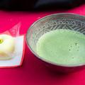 瀧安寺のお茶と茶菓子