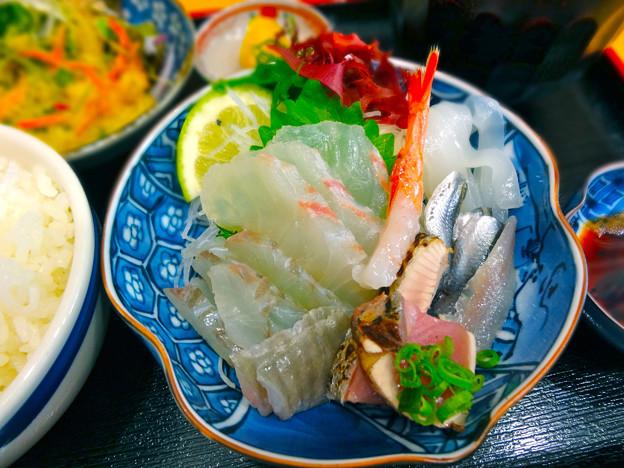 鮮魚さかい 刺身定食 Sashimi Japanese cuisine seafood 呉市本通6丁目