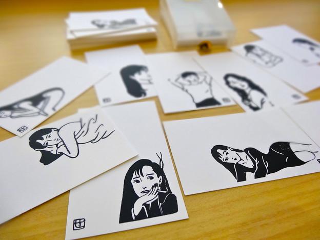ナンシー関の美人カード 倉敷意匠計画室