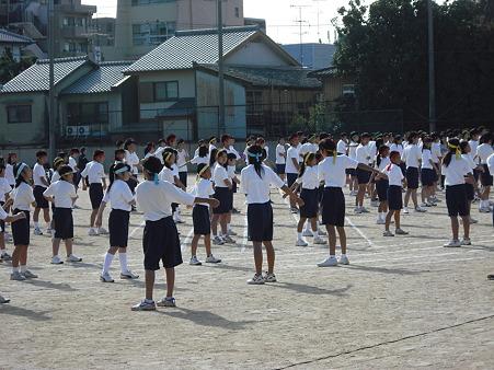 体育祭(準備体操)