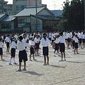 Photos: 体育祭(準備体操)