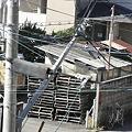 Photos: 電柱復帰作業