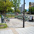 写真: F-2 三川町交差点サイクルポート