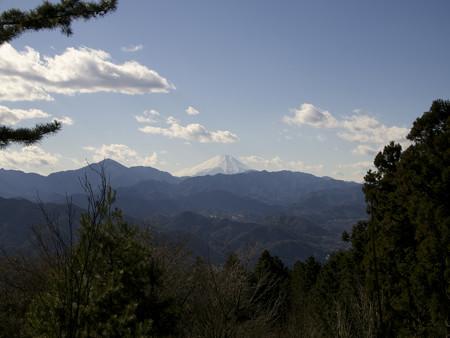 富士山方面の展望