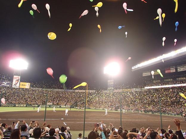 阪神甲子園球場 2014 09 19