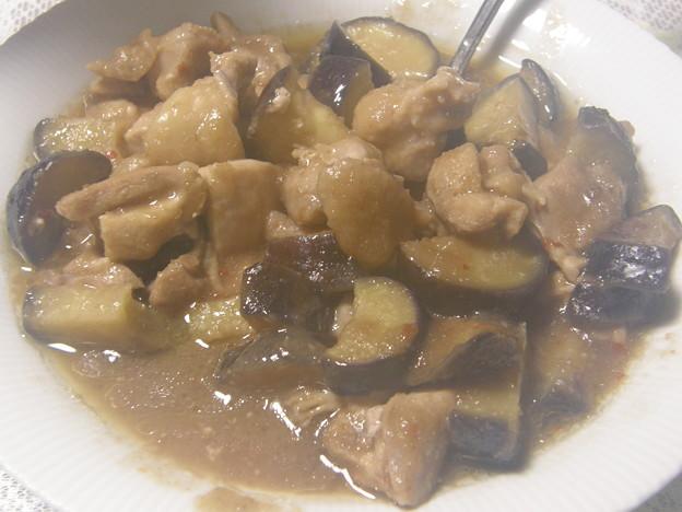 Photos: なすと鶏肉のしぐれ煮・・・クックアップ