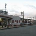 兵庫県三田市の神鉄三田本町駅とか。白ポストが自然な保護色で溶け込んでいる。(2014年)