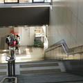 兵庫県西宮市の西宮名塩駅の白ポストを西側入口側から見下ろす。(2015年)