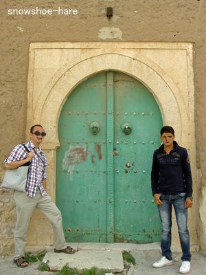 チュニジアの扉(ラグレット近辺)