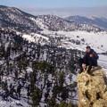 雪景色の山と俺1