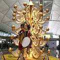香港空港のクリスマスツリー