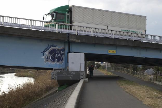 鶴見川 横浜上麻生道路