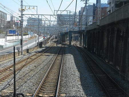 大阪環状線の車窓(弁天町→天王寺)10