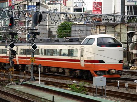 485系(新宿駅)2