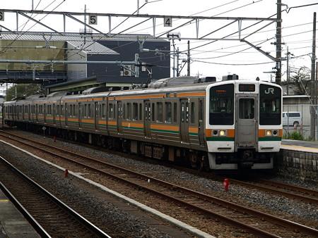 211系(宝積寺駅)6