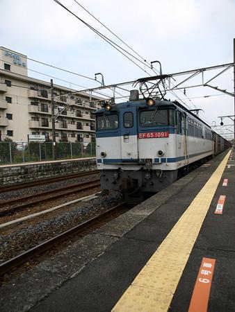 貨物列車(宝積寺駅)1