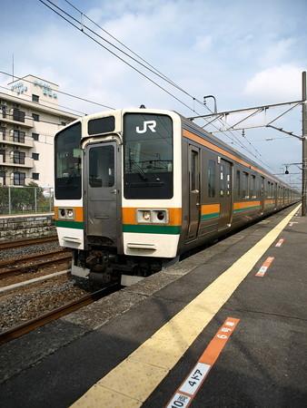 211系(宝積寺駅)9