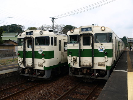 キハ40(大金駅)2