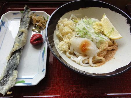 醤油+わかめの天ぷら