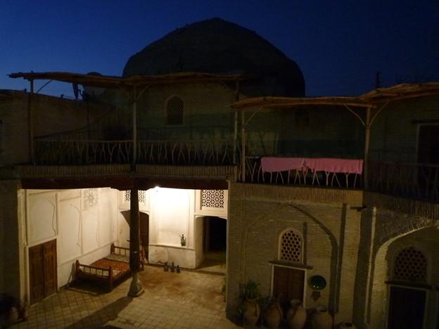 シルクロード 旧モスクのホテル Madrasah renovated as a hotel