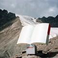 ウルムチ近郊氷河 標高3820mの案内板 Glacier in Ürümqi