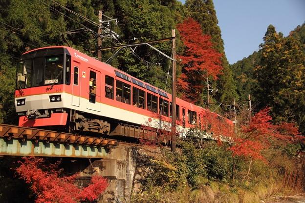 叡山電鉄「きらら」メイプルレッド