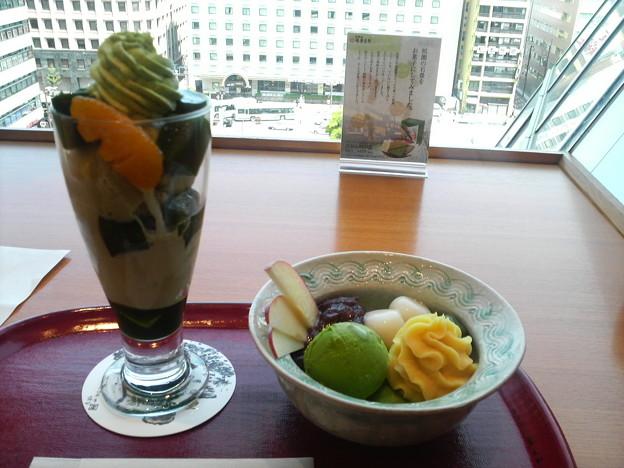 茶寮都路里京都伊勢丹店