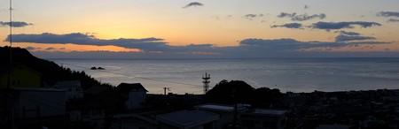 熊野灘 12月朝日6:59