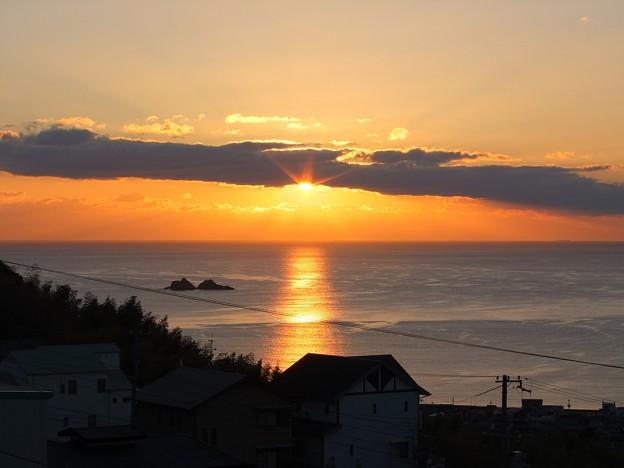 かんぽの宿熊野 12月朝陽7:10