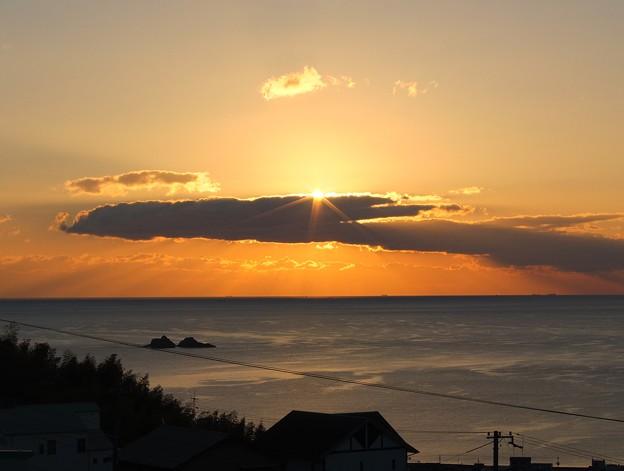 かんぽの宿熊野 12月朝陽7:16