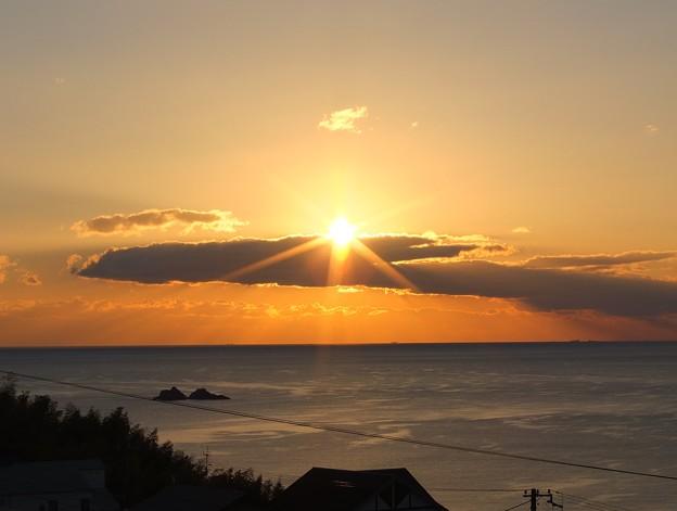 かんぽの宿熊野 12月朝陽7:17