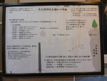花窟神社10 お綱かけ神事説明図