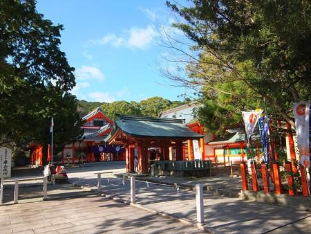 熊野速玉大社01 朱塗りの海人系神社
