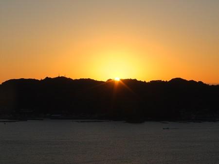串本の夜明け06 大森山からの朝日