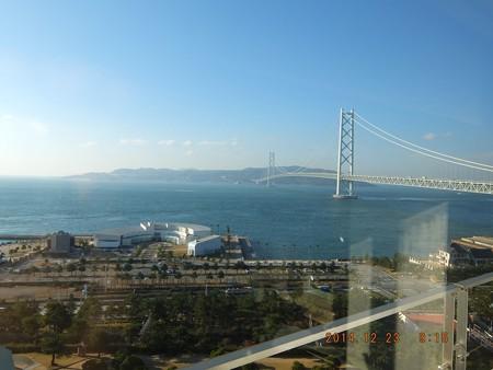 明石海峡大橋16 ホテルの部屋から
