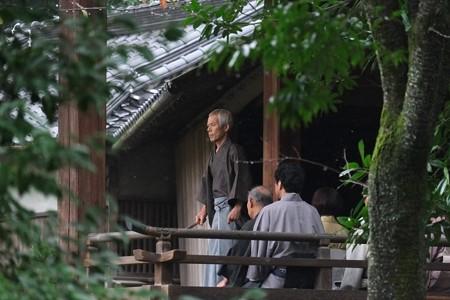 2014.11.01 熊本 水前寺成趣園 雨中 出水神社・薪能稽古?
